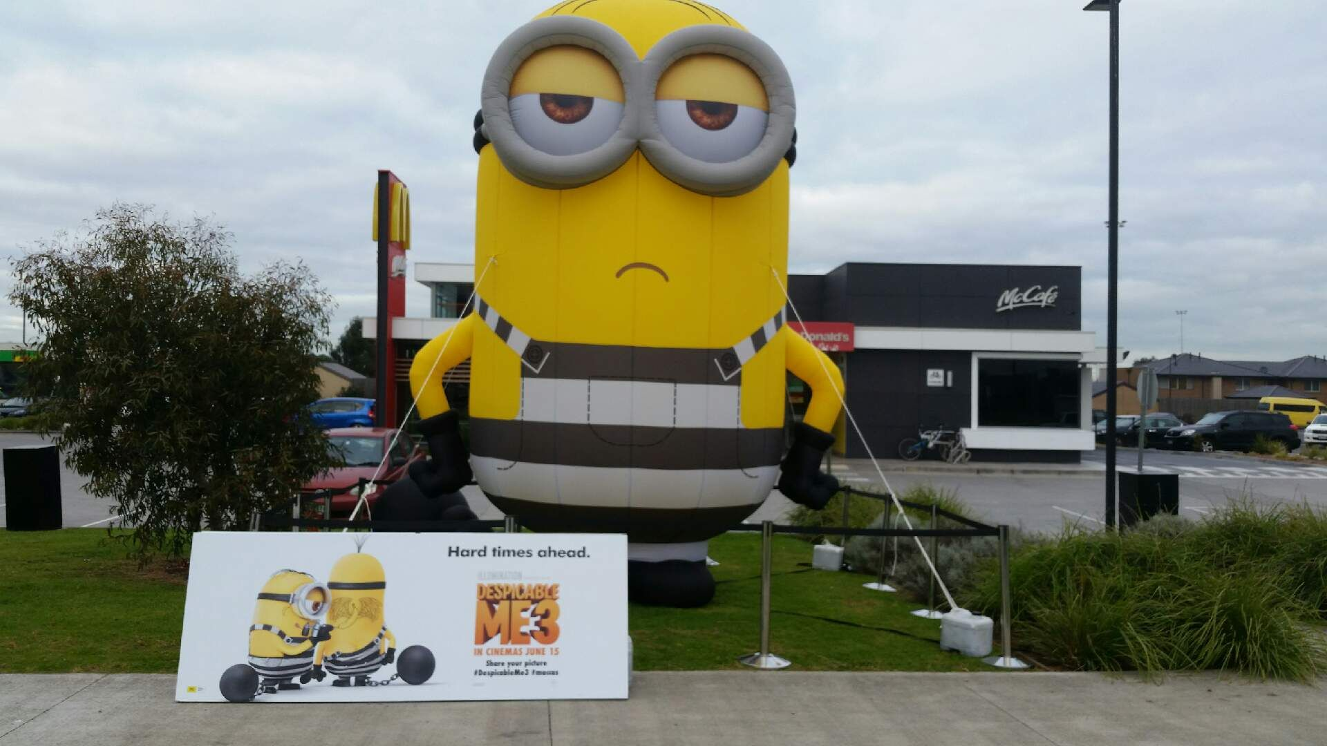 Exposure Group Giant Inflatable Minion