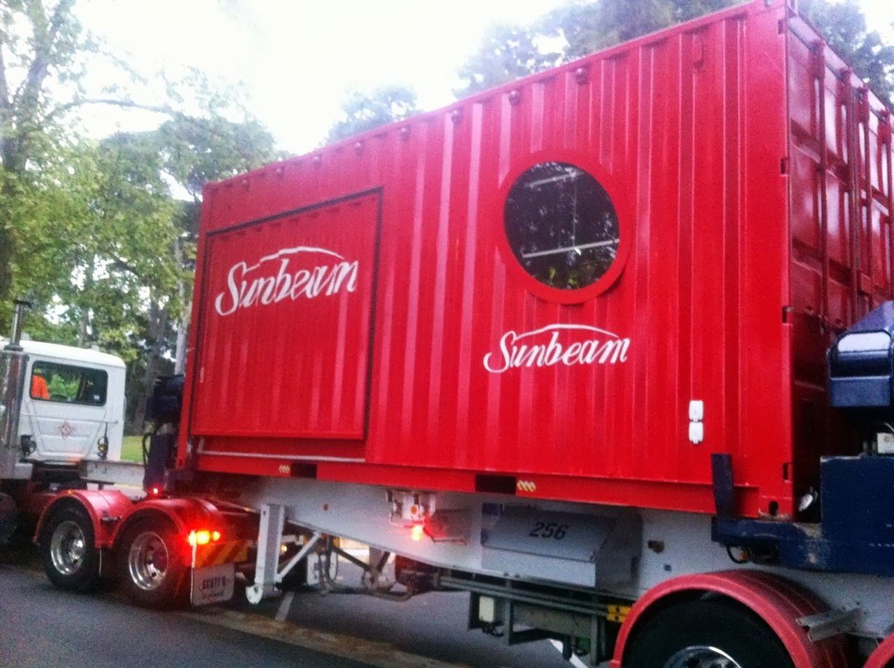 Sunbeam Mobile Trade Show Container