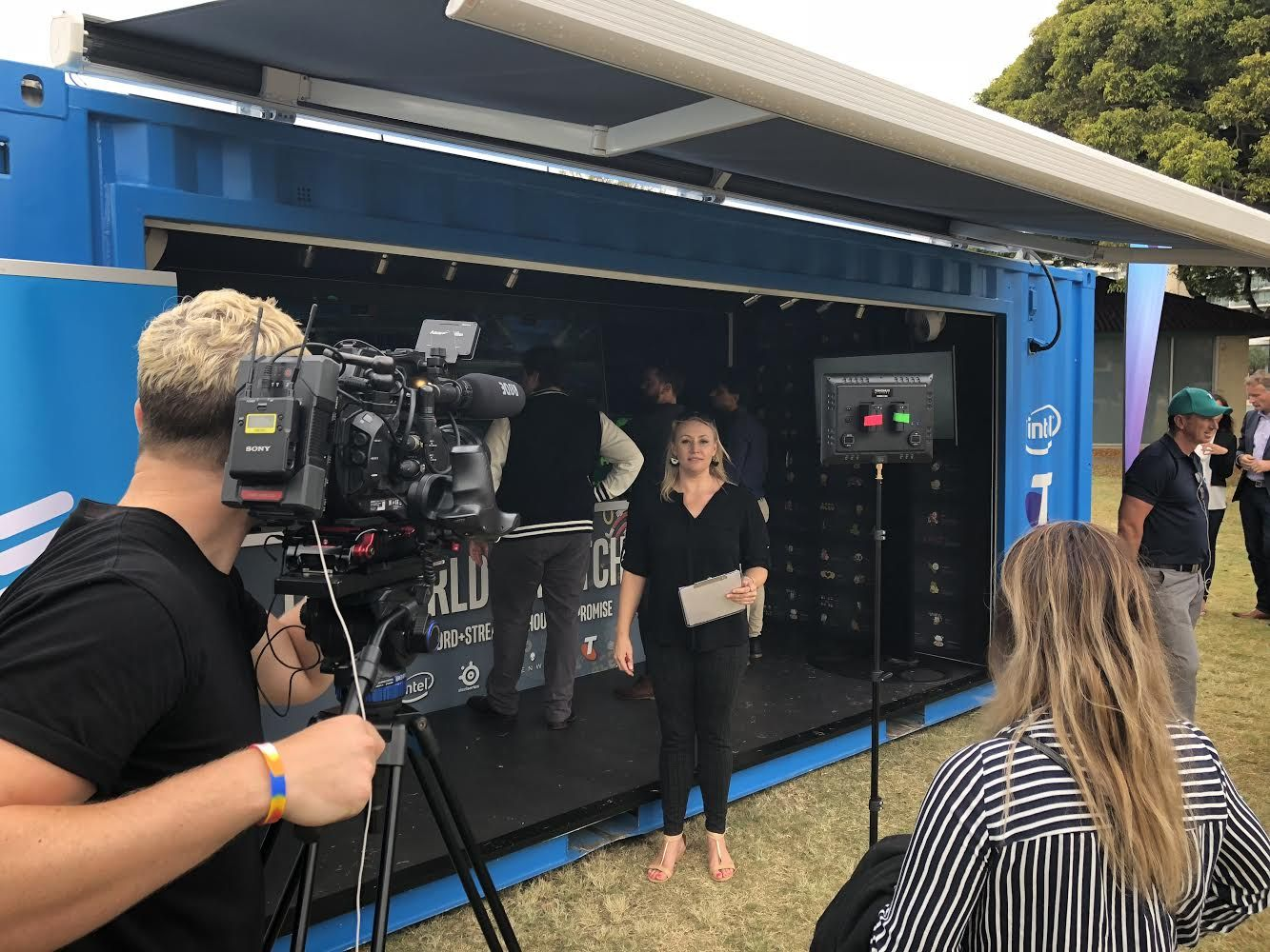Telstra Intel 5G Internet Booth