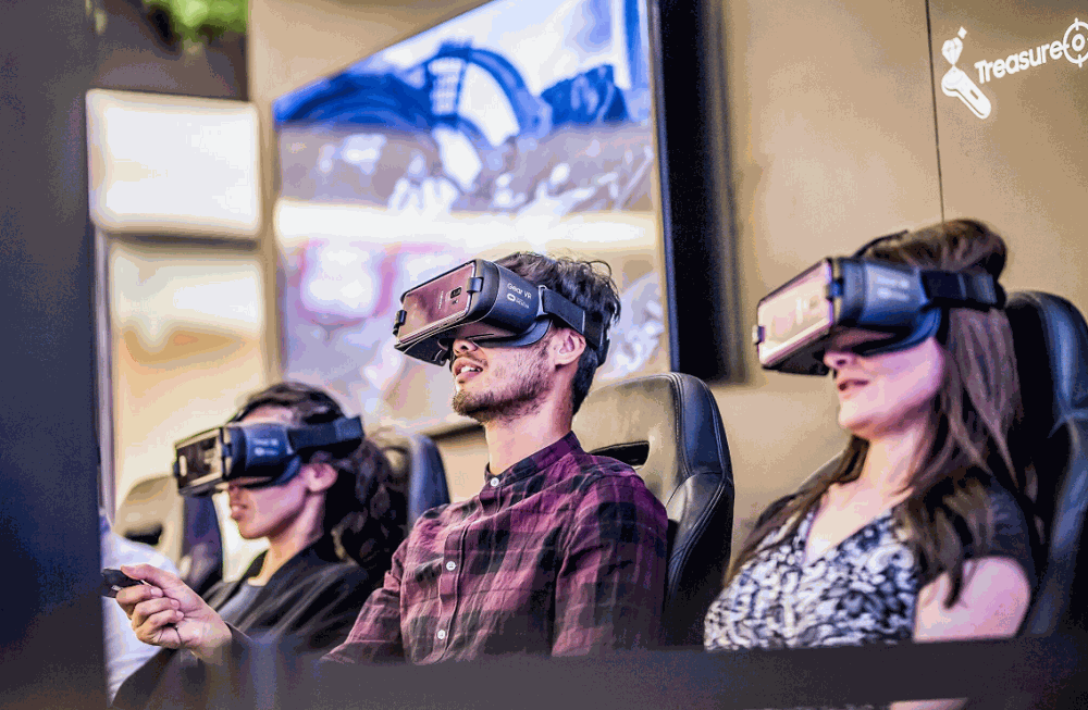 Virtual Reality in a Branded Environment