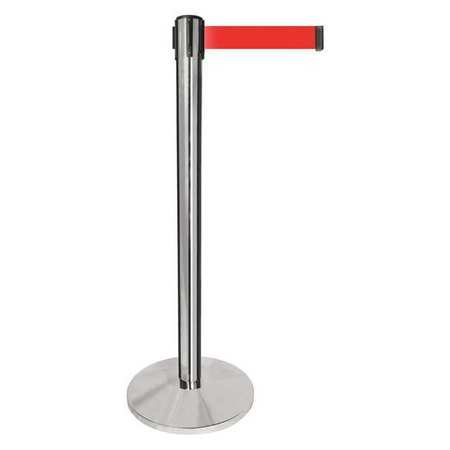 Tensile barriers - Chrome w/ red belt