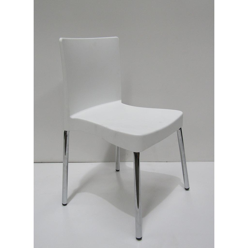 Chair - Dining - PVC - White