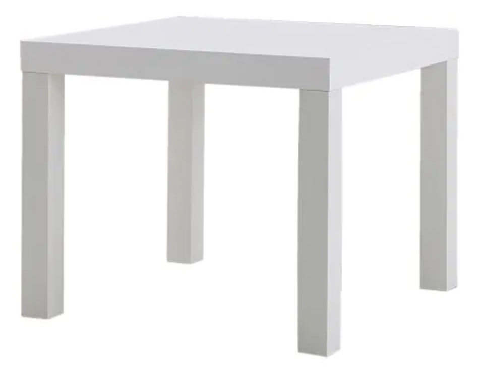 Table - Coffee - Square - White